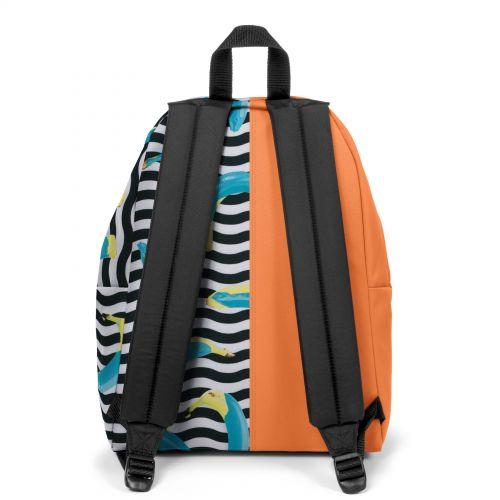 Re-built: Recycled Padded Pak'r® Orange/Blue Banana Backpacks by Eastpak - view 4