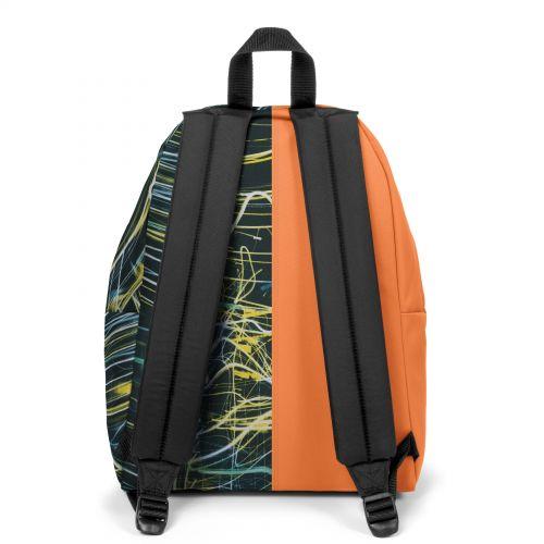 Re-built: Recycled Padded Pak'r® Orange/Neon Lights Backpacks by Eastpak - view 4