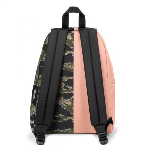 Re-built: Recycled Padded Pak'r® Dusty Pink/Camoe Backpacks by Eastpak - view 4