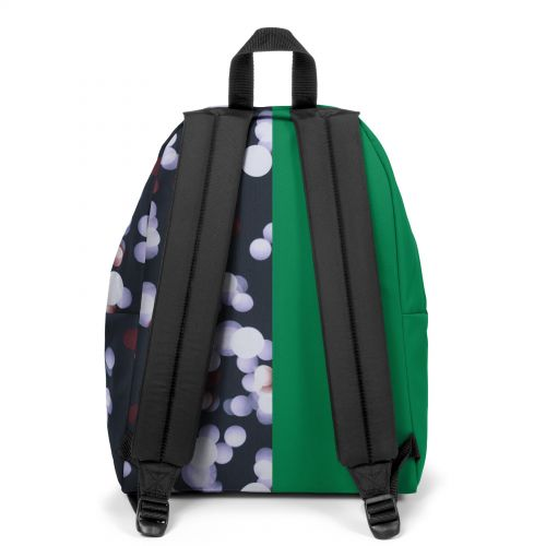 Re-built: Recycled Padded Pak'r® Grass Green/Summer Lights Backpacks by Eastpak - view 4