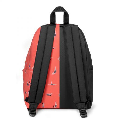 Re-built: Recycled Padded Pak'r® Black/Jump Orange Backpacks by Eastpak - view 4