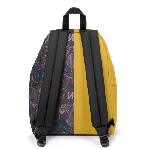 Re-built: Recycled Padded Pak'r® Yellow/Red Wolves Backpacks by Eastpak - view 4