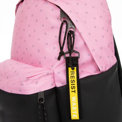 Padded Pak'r® Pink Diamond/Black Backpacks by Eastpak - view 6