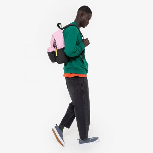 Padded Pak'r® Pink Diamond/Black Backpacks by Eastpak - view 17