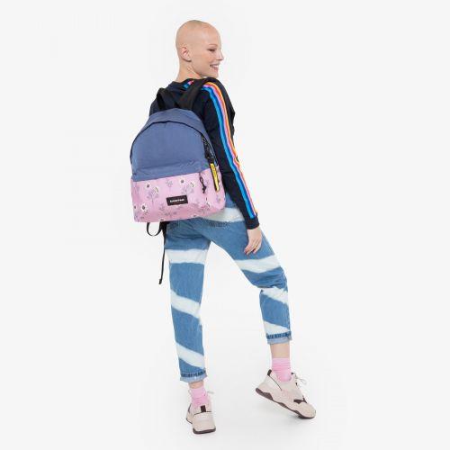 Padded Pak'r® Melange/Flower Backpacks by Eastpak - view 15