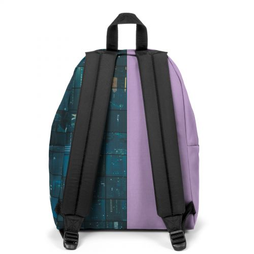 Re-built: Recycled Padded Pak'r® Lilac/Space Blue Backpacks by Eastpak - view 4