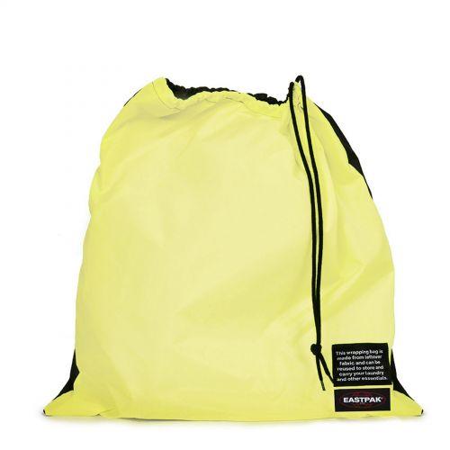 Re-built: Recycled Padded Pak'r® Black/Happy Lemon Backpacks by Eastpak - view 6
