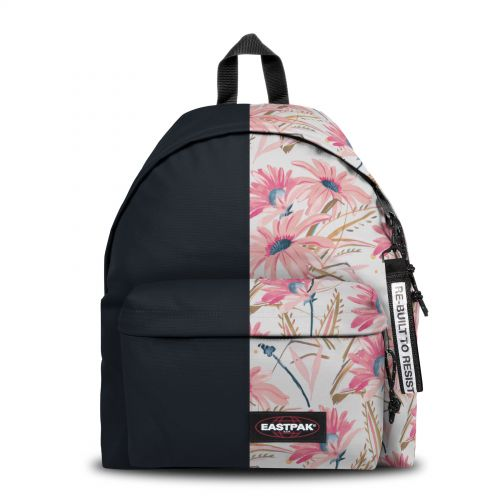 Re-built: Recycled Padded Pak'r® Black/Soft Summer Backpacks by Eastpak - view 1
