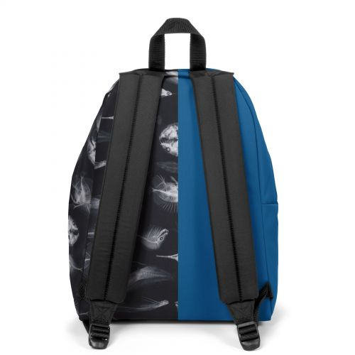 Re-built: Recycled Padded Pak'r® Deep Blue/Funky Fish Backpacks by Eastpak - view 4