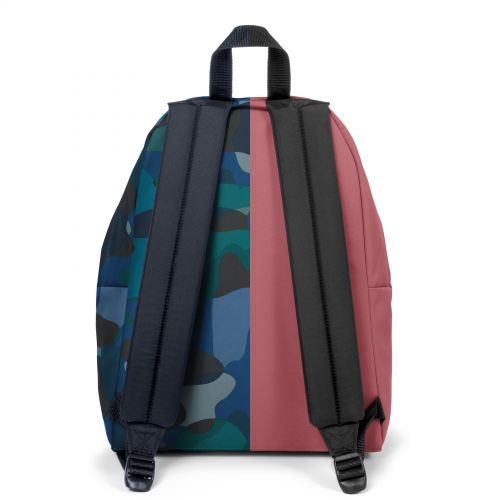 Re-built: Recycled Padded Pak'r® Dusty Pink/Geo Shapes Backpacks by Eastpak - view 4