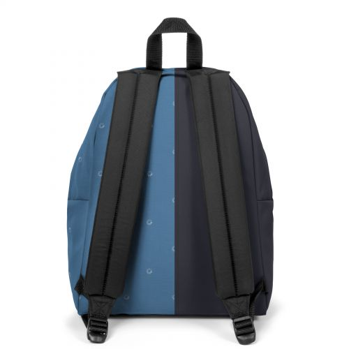 Re-built: Recycled Padded Pak'r® Deep Navy/Loading Backpacks by Eastpak - view 4