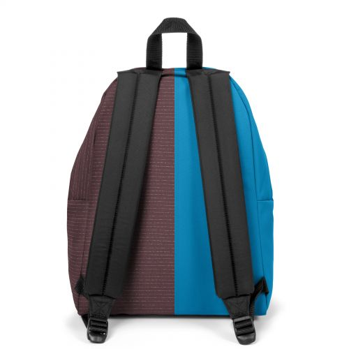 Re-built: Recycled Padded Pak'r® Pool Blue/Stitched Backpacks by Eastpak - view 4