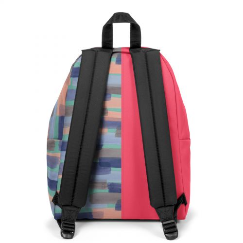 Re-built: Recycled Padded Pak'r® Sailor Red/Soft Strokes Backpacks by Eastpak - view 4