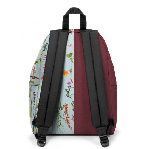 Re-built: Recycled Padded Pak'r® Red/Flowers