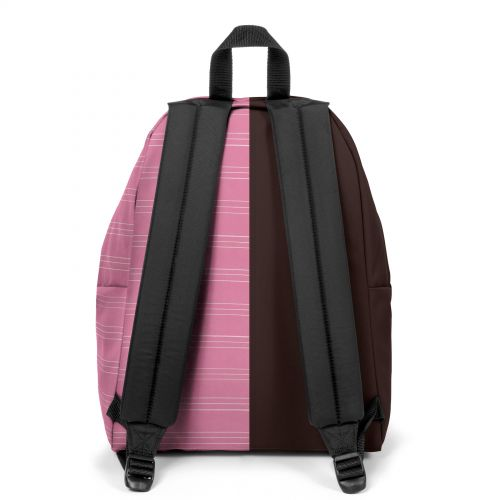 Re-built: Recycled Padded Pak'r® Brown/Pink Stripes