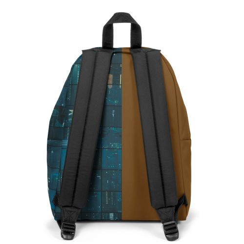 Re-built: Recycled Padded Pak'r® Light Brown/Blue City Print