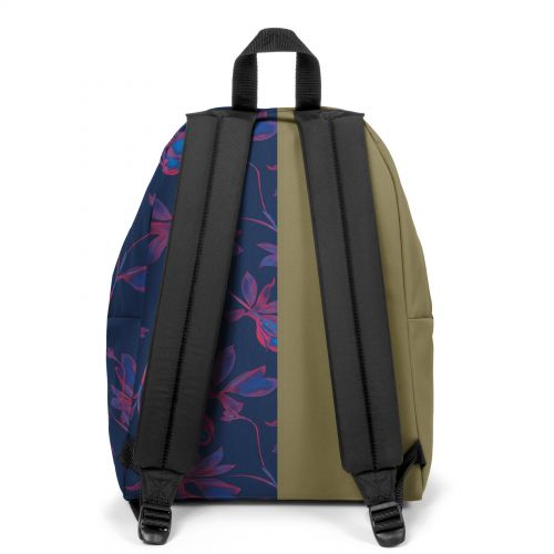 Re-built: Recycled Padded Pak'r® Military Green/ Tropical Flowers