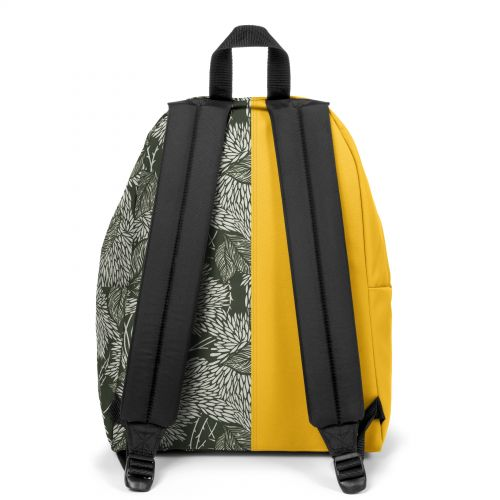 Re-built: Recycled Padded Pak'r® Gold/White and Black Leaves