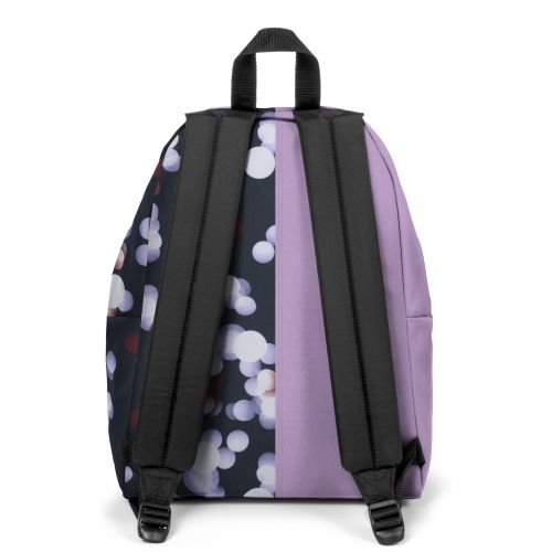 Re-built: Recycled Padded Pak'r® Mauve/Multicolor Dots