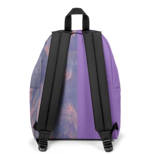 Re-built: Recycled Padded Pak'r® Purple/Palm trees print