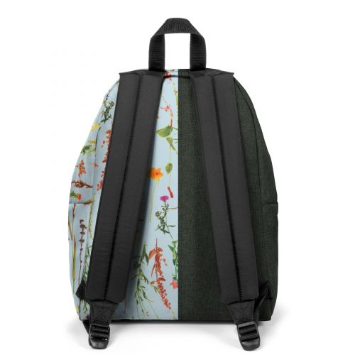 Re-built: Recycled Padded Pak'r® Gray/Tropical Flowers
