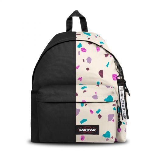 Re-built: Recycled Padded Pak'r® Black/ Stroke Print Backpacks by Eastpak - view 1