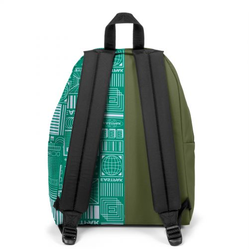 Re-built: Recycled Padded Pak'r® Military Green/Eastpak graphic design