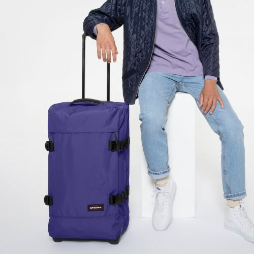Tranverz M Amethyst Purple Luggage by Eastpak - view 0