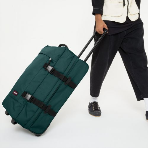 Tranverz M Emerald Green Luggage by Eastpak - view 0