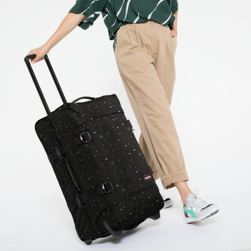 Tranverz M Splashes Dark Luggage by Eastpak