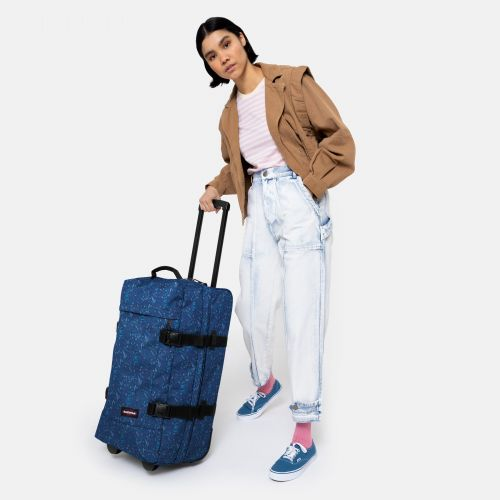 Tranverz M Herbs Navy Luggage by Eastpak