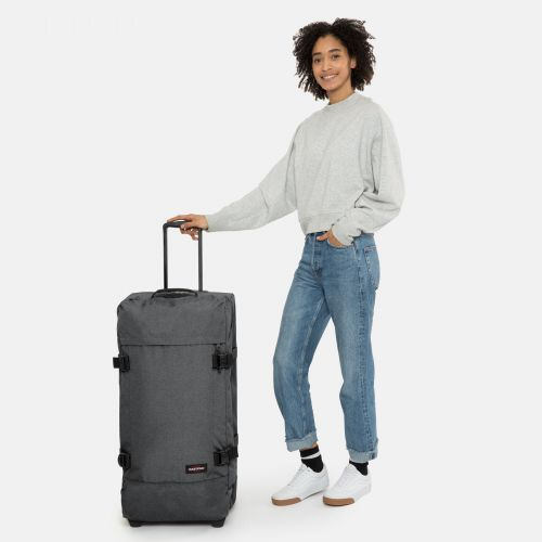 Tranverz L Black Denim Tranverz by Eastpak