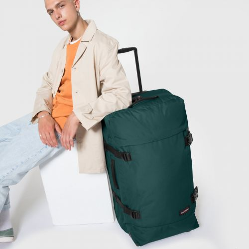 Tranverz L Emerald Green Luggage by Eastpak - view 0