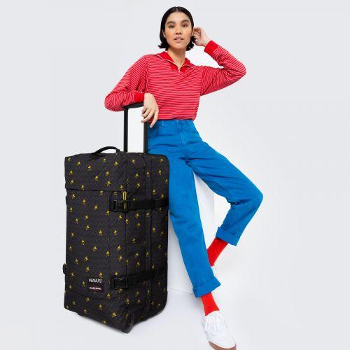 Tranverz L Peanuts Woodsto Luggage by Eastpak