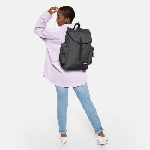 Austin + Black Denim Basic by Eastpak