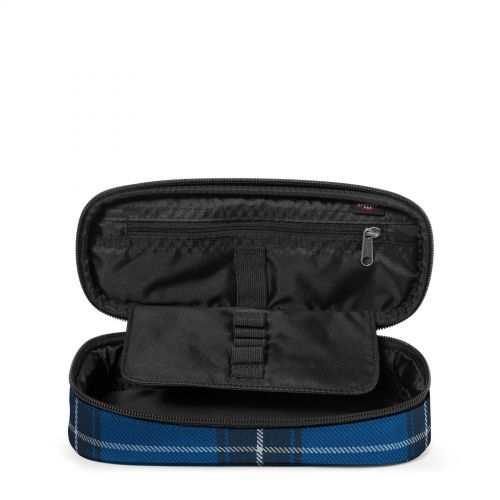Oval Single Checked Blue Accessories by Eastpak