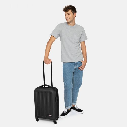 Tranzshell S Black Hard Luggage by Eastpak