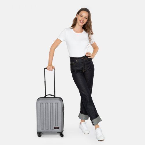 Tranzshell S Sunday Grey Hard Luggage by Eastpak
