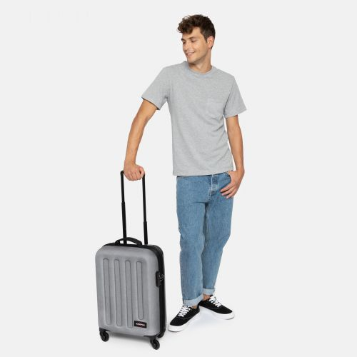 Tranzshell S Sunday Grey Hard Luggage by Eastpak