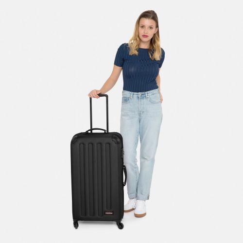 Tranzshell M Black Hard Luggage by Eastpak