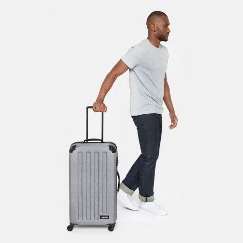 Tranzshell M Sunday Grey Hard Luggage by Eastpak