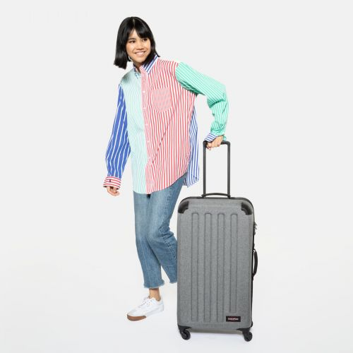 Tranzshell L Sunday Grey Hard Luggage by Eastpak