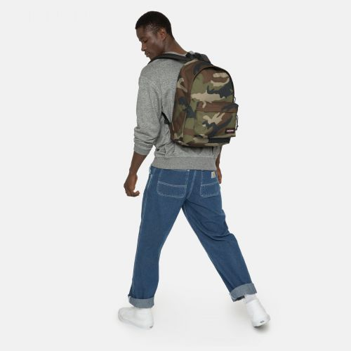 Out Of Office Camo Study by Eastpak