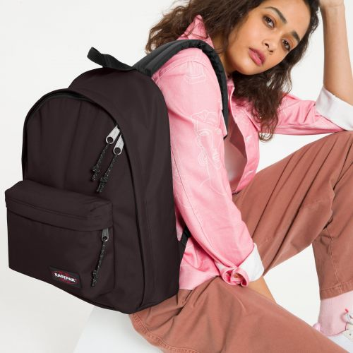 Out Of Office Earth Brown Backpacks by Eastpak - view 0