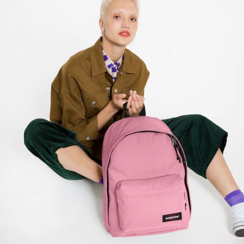 Out Of Office Crystal Pink Backpacks by Eastpak - view 0