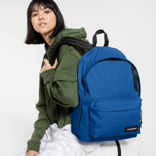 Out Of Office Cobalt Blue Backpacks by Eastpak - view 0