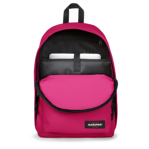 Out Of Office Ruby Pink Backpacks by Eastpak