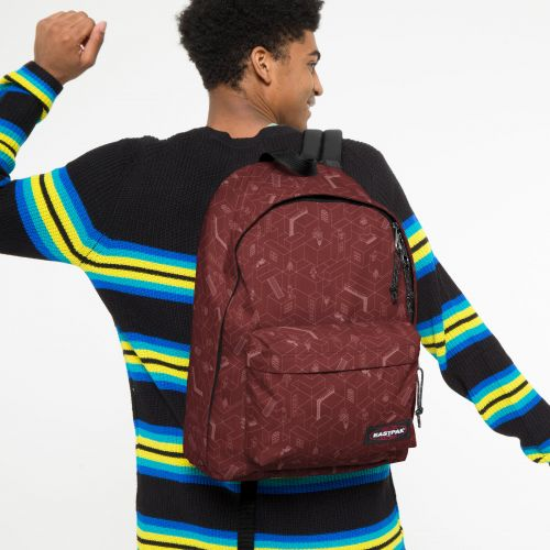 Out Of Office Blocks Brisk Backpacks by Eastpak - view 0