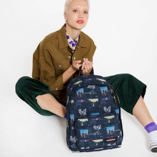 Out Of Office Shapes Blue Backpacks by Eastpak - view 0