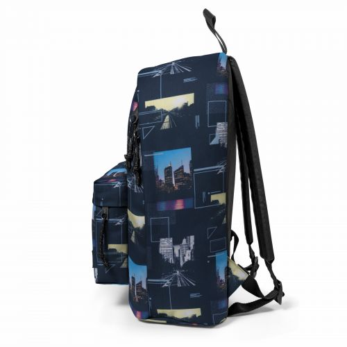 Out Of Office Shapes Blue Backpacks by Eastpak